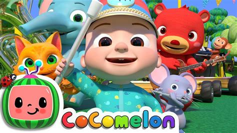 musical instruments song animal band cocomelon nursery rhymes kids songs piano understand