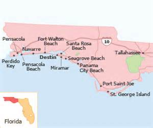 map of panhandle florida rentals and villas in mexico fl tripadvisor