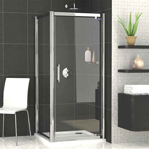 Shower Door 700mm Showerlux Legacy Pivot Shower Door 700mm