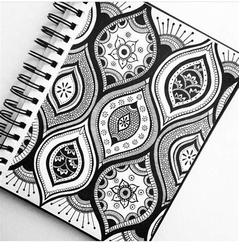 Pattern Fill Drawing | papercraft zentangle doodle don t forget you can fill