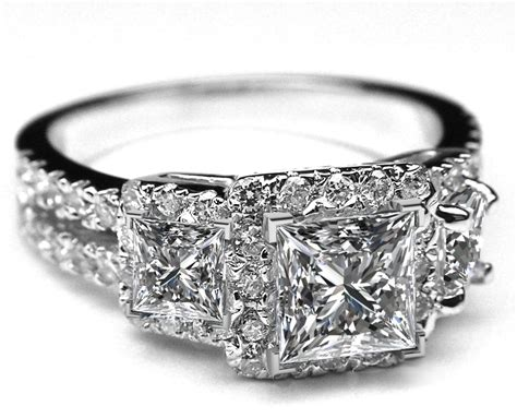 princess engagement rings from mdc diamonds nyc