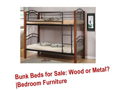 metal and wood bedroom furniture bunk beds for sale wood or metal bedroom furniture