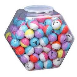 colored golf balls nitro eclipse multi colored golf balls pack of 120 ebay