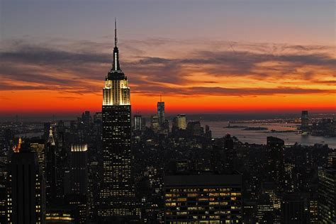 manhattan skyline sunset carlo bon flickr