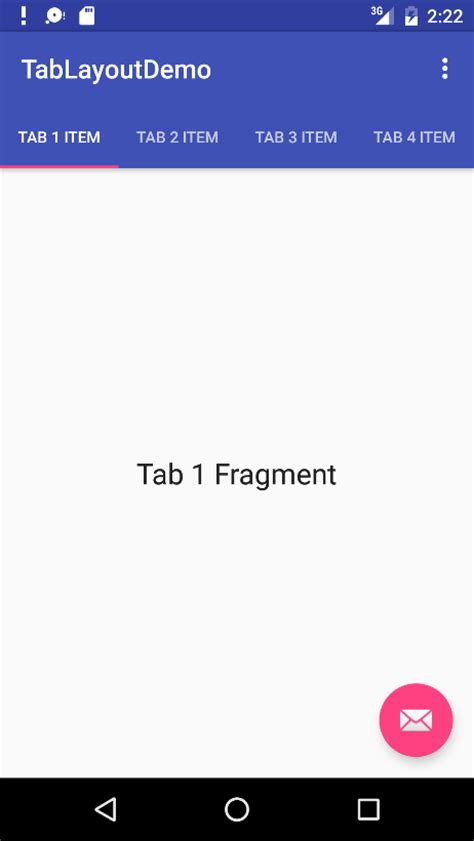 android studio layout for tablet creating an android tabbed interface using the tablayout