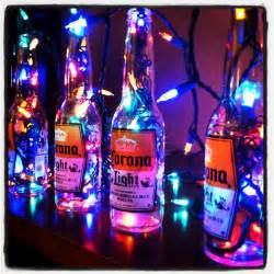 Beer Themed Decorations - reuse old beer bottles for decoration great party decor man cave pinterest classy