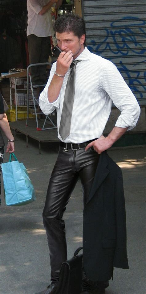 guys in tight jeans all sizes hot business man in leather pants flickr