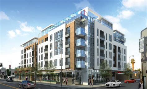 2 Story Garage Plans With Apartments by Building Los Angeles More Apartments Underway South Of