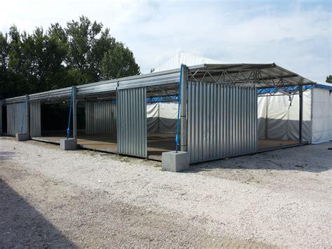 noleggio capannoni per feste coperture in lamiera dms metal stands