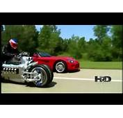 Dodge Viper Vs A Moto Tomahawk  YouTube