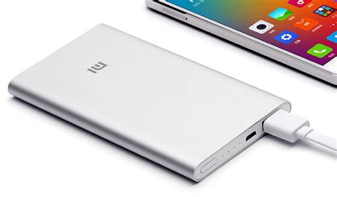 Power Bank Xiaomi 60000mah Slim xiaomi announces slim 5000 mah mi power bank nextpowerup