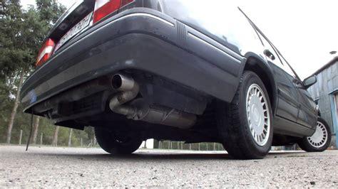 volvo  gl  redblock stock exhaust sound youtube