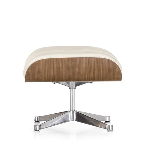 lounge chair ottoman vitra eames lounge chair ottoman walnut white