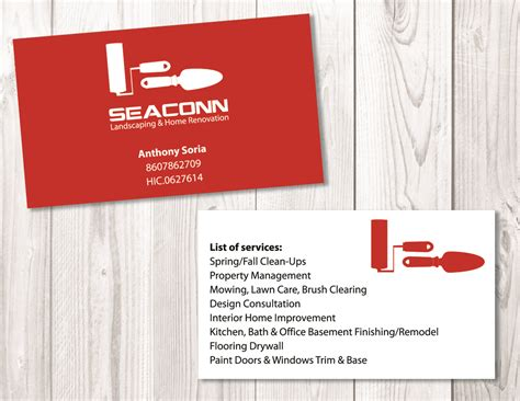 Home Improvement Business Card Template by Home Improvement Business Cards Exles Gallery Card