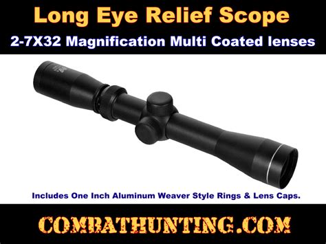 Ncstar 2 7x32 Mm Pistol Scope by Spb2732b Ncstar 2 7x32 Mm Ao Pistol Scope With Rings And