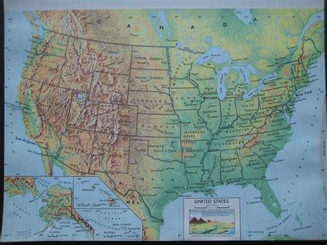 map of united states free large images large color map of the united states