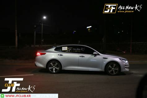 What Does A Kia Look Like This Is What The New Optima Looks Like Fully Undisguised