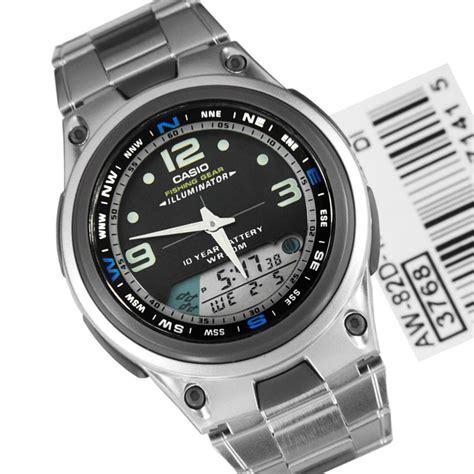 Jam Casio Original Jam Tangan Pria Cowok Garansi Resmi Casio 2 jual jam tangan murah diskon jam tangan pria original casio aw82d rantai silver hitam di lapak