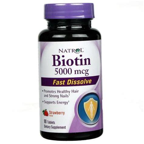 Buy Hair Growth Vitamins With 5000mcg Of Biotin Dht Blocker 27 | natrol biotin strawberry 5000 mcg 90 tablets