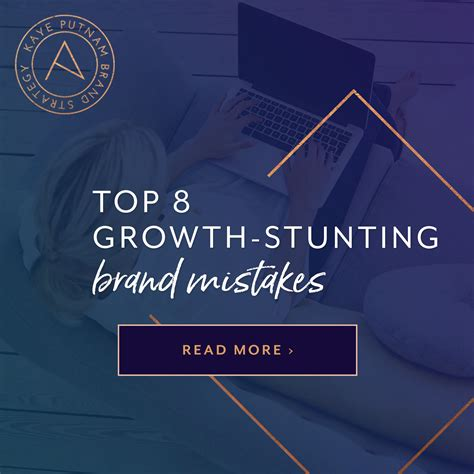 Top Ten Branding Mistakes To Top 8 Growth Stunting Brand Mistakes To Avoid As You Grow