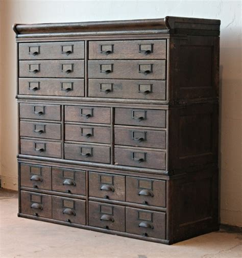 antique wooden 23 drawer storage cabinet 2 home lilys antique storage cabinet antique furniture