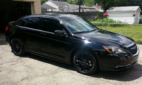 2012 chrysler 200 blacked out new from ohio 2013 200s special edition