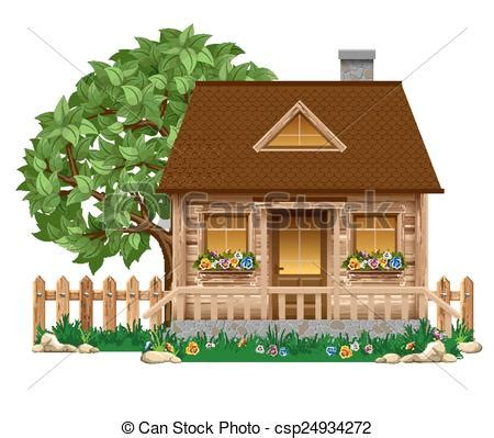 A Frame Cabin Plans Free vectors illustration of small wooden house small wooden