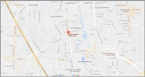 Kasur Busa Gajah distributor resmi kasur busa inoac peta lokasi showroom