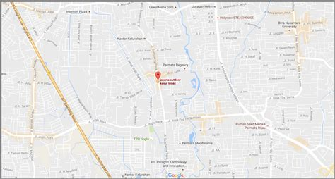 Kasur Busa Jakarta Selatan distributor resmi kasur busa inoac peta lokasi showroom