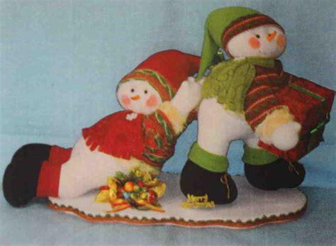 moldes munecos navidenos molde y patrones de mu 241 ecos de nieve navide 241 o page 3