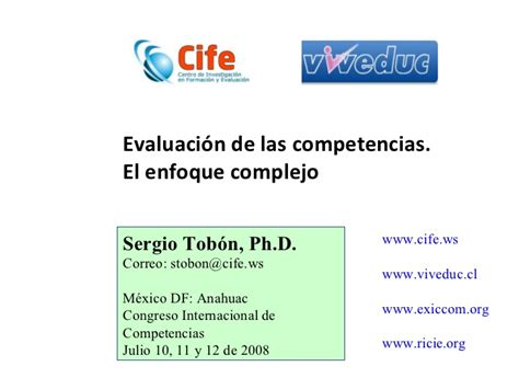 Diseño Curricular Por Competencias Sergio Tobon Secuencias Didacticas Tobon Slideshare The Knownledge