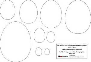 small easter egg template early play templates simple easter egg templates