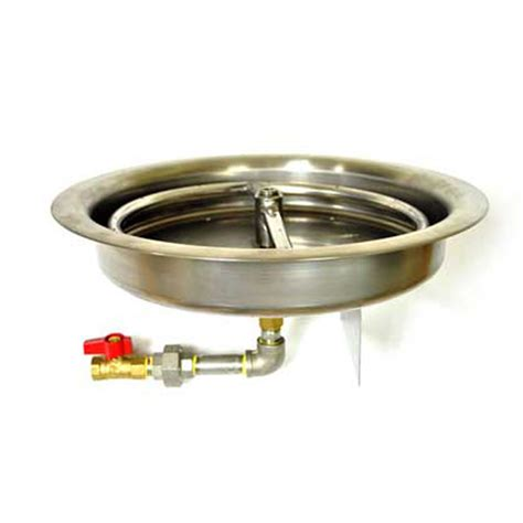 round natural gas fire pit burner ring kit buy fire pit