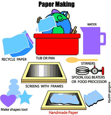 How To Make Paper At Home For - planetpals how to make handmade paper paper