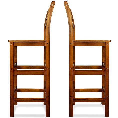 Stuhl Lehne by B Ware 2x Barhocker Mit Lehne Barstuhl K 252 Chenstuhl Holz