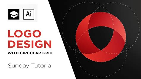 logo tutorial illustrator youtube how to design a logo with circular grid adobe