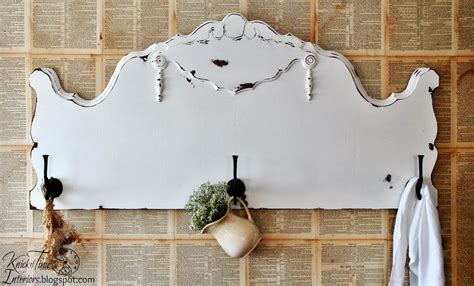 repurpose old headboard repurposed antique headboard into coat rack knick of time