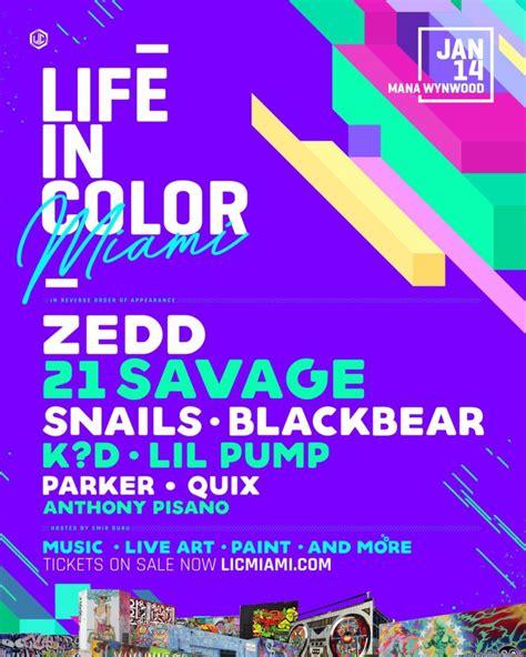 in color miami lineup festival in color festival miami fla tickets and