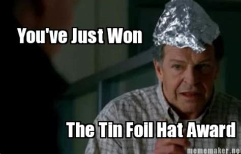 Tin Foil Hat Meme - image 804573 tin foil hats know your meme