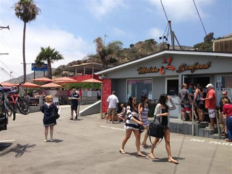 view from our table picture of malibu seafood fresh fish