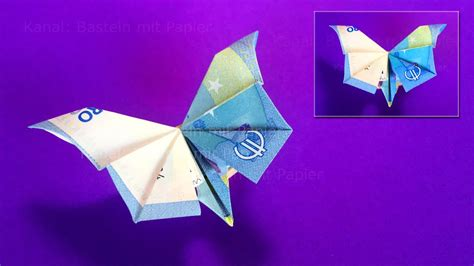 Origami Money Butterfly Folding - origami butterfly how to fold money