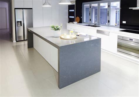 gris fuma quartz quantum quartz quantum quartz natural stone australia kitchen benchtops