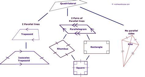 kinds  quadrilaterals