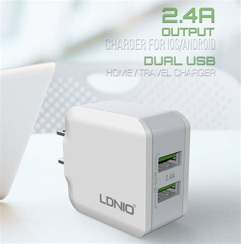 Samsung Usb Travel Charger Output 2 0 A ldnio 2 usb port eu 5v 2 4a travel charger for iphone 7 6s 6 5 samsung xiaomi sale