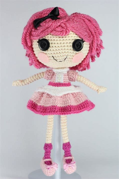 Tinky Chocolate Shoes lalaloopsy crumbs chocolate amigurumi doll by
