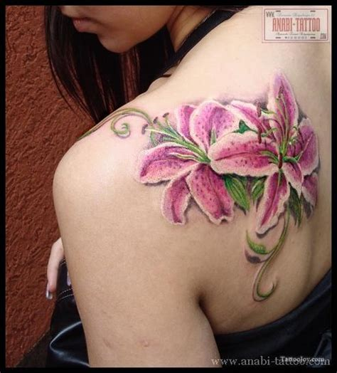 lily shoulder tattoo designs tattoos and designs page 4