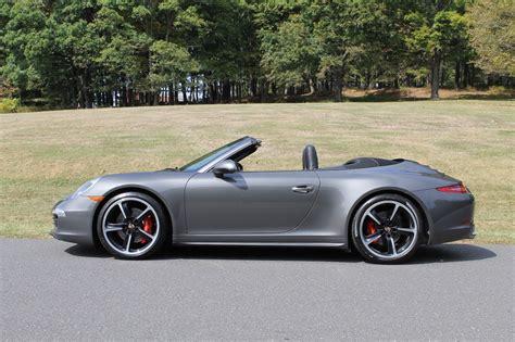 grey porsche 911 convertible 2014 porsche 911 4s 35 979 agate grey
