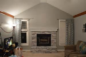 whitewash brick fireplace to paint or not to paint no longer a question