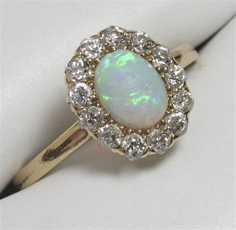 vintage opal and engagement rings engagementring