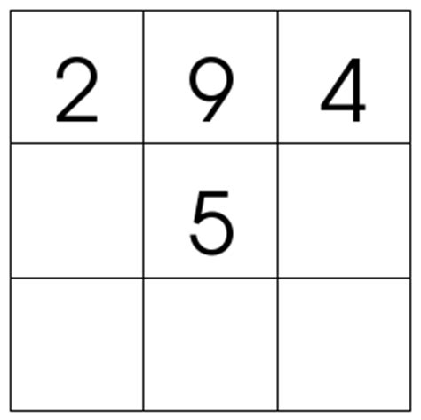 Easy Magic Squares Worksheet by 3x3 Magic Square Dr Mike S Math For